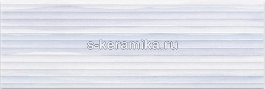 Плитка настенная MEI Elegant Stripes 750x250 blue structure O-ELS-WTU042