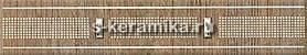 Бордюр AZORI Оригами 278x50 Табакко Прагматика