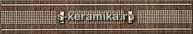 Бордюр AZORI Оригами 278x50 Мокка Прагматика