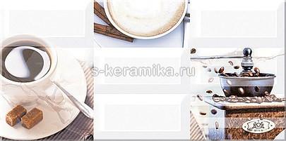 Декор AZORI Вог Эспрессо 405x201