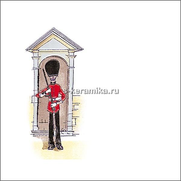 Декор KERAMA MARAZZI Бейкер-стрит 200х200 Гвардеец А1518/5009