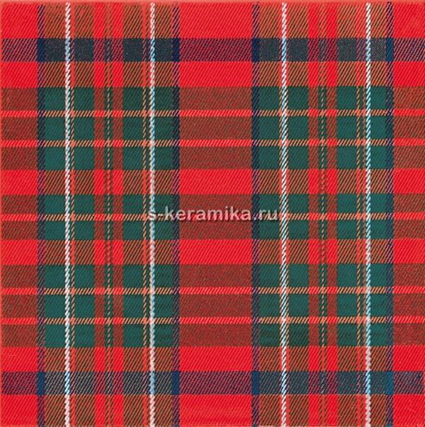 Плитка настенная KERAMA MARAZZI Бейкер-стрит 200х200 красный 5170