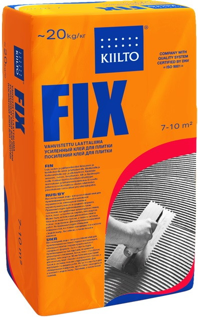 Клей KIILTO FIX 20 кг