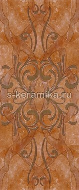 Декор GRACIA CERAMICA Dreamstone terracotta decor 02 600х250