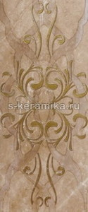 Декор GRACIA CERAMICA Dreamstone grey brown decor 02 600х250