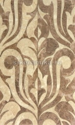 Декор GRACIA CERAMICA Saloni brown decor 01 500х300
