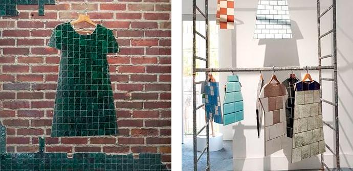 Керамическая одежда на биеннале