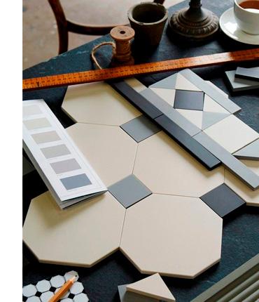 Процесс создания метлаханской плитки